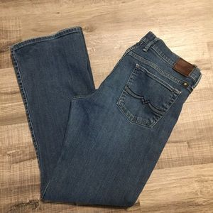 Lucky Brand Sweet N' Low Bootcut Jeans. Size 12